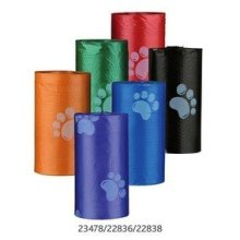 Trixie 4 x 12 Large Dog Poo Bag Rolls - Paws - Bags Dirt Roll 22836 20 Multi Buy -  dog bags trixie dirt large poo roll 22836 20 multi buy 4 rolls 12