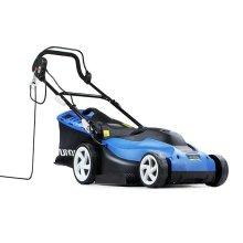 Hyundai HYM3800E Corded Electric Rotary Lawnmower 1600W 240V