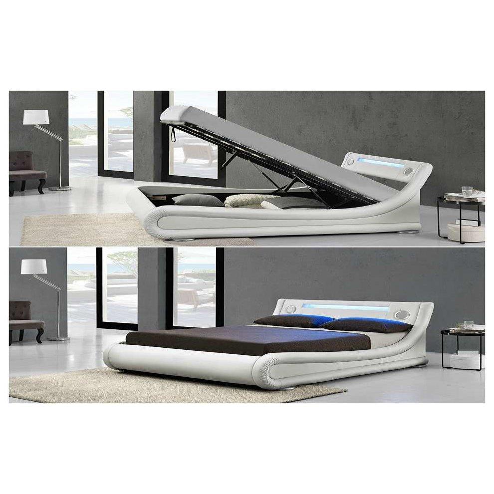 Terrific Rio Led Bluetooth Speaker Ottoman Bed Frame Forskolin Free Trial Chair Design Images Forskolin Free Trialorg
