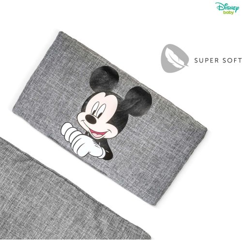 Disney Alpha Highchair Pad Deluxe - Mickey Mouse Grey