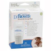 Dr Browns Simplisse Breastmilk Baby Feeding Freezer Fridge Storage Bags x 25 New