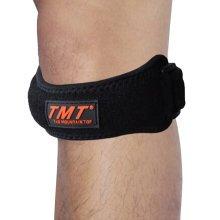 Set of 2 Sports Adjustable Silicon Knee Pads patella retinaculum Knee Protector
