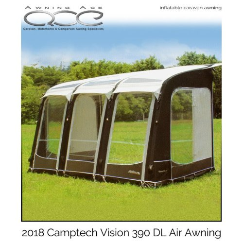 Camptech Vision DL All Season Caravan Porch Awning