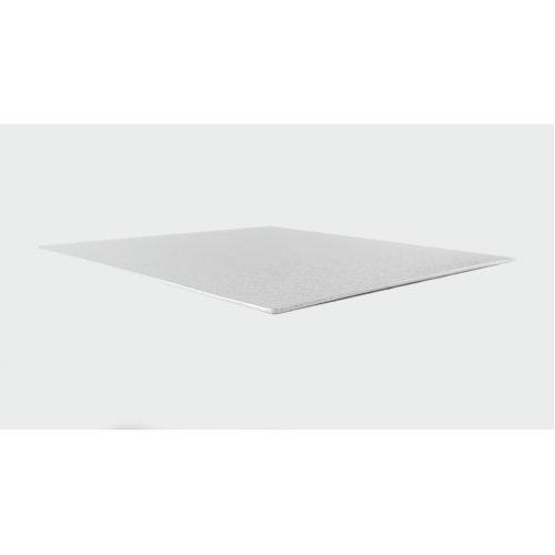 "13"" Thin Silver Square Cake Board 3mm Thick"