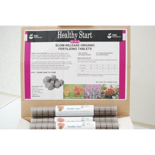HealthyStart® Tablets 15x10g slow release ORGANIC fertilizer,works for 12 months
