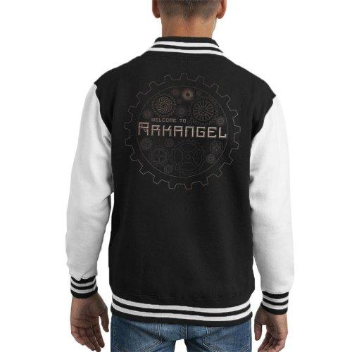 Mortal Engines Welcome To Arkangel Kid's Varsity Jacket