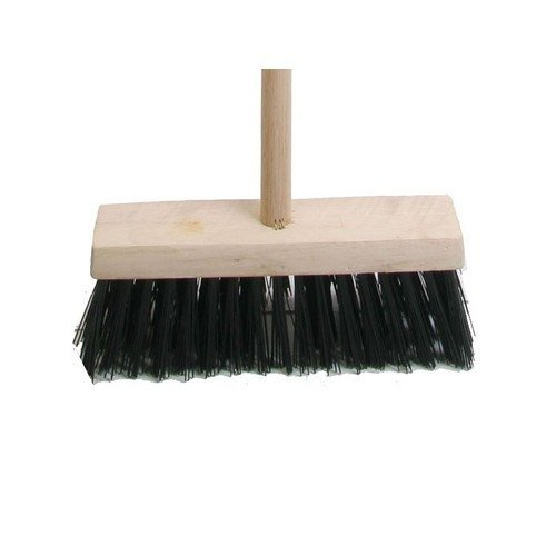 Faithfull FAIBRPVC13H Broom PVC 325mm (13 in) Head complete with Handle