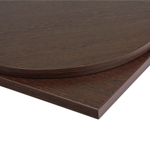 Taybon Laminate Table Top - Wenge Round - 800mm