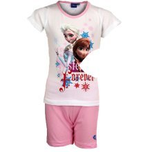Frozen Short Pyjamas - White