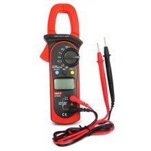UNI-T UT204A Digital Handheld Auto Range Clamp Multimeter DMM AC/DC Meter(Red&Black)