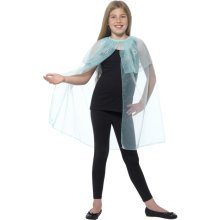 Smiffy's Children's Blue Snowflake Cape (small - Medium) -  snowflake cape fancy dress girls smiffys christmas blue