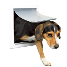 TRIXIE 2 Way Dog Flap Size S-M 30x36 cm White 3878