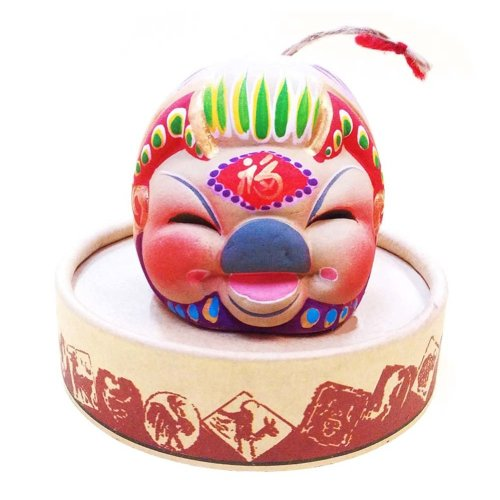 Clay Sculpture Zodiac Ornaments Clay Chinese Characteristic Toy Figurines