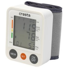 Cresta Wrist Blood Pressure Monitor BPM220 White 75950.01