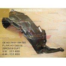 Honda Crv 2002-2007 Front Wing Arch Liner Splashguard Right O/s