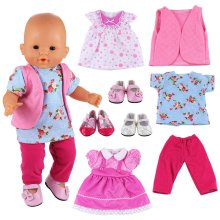 Sunglasses Our Generation And Other Dolls Miunana 5 Sets Swimsuits Lots Bathing Clothes Outfits Hats For 16-18 Inch American Girl Dolls Shoes