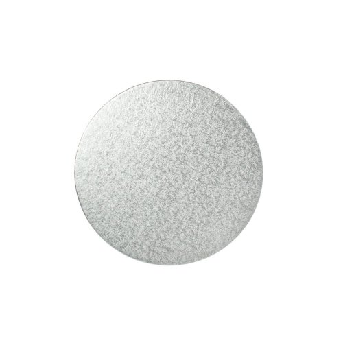 "15"" Thin Silver Round Cake Board 3mm Thick"