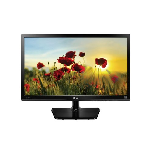 "LG 24M47VQ-P 23.5"" Black Full HD Matt LED display"