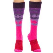 Batman Gradient Pink/Purple Knee High Socks
