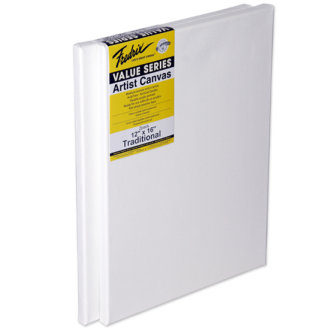 "Tara Fredrix Value Stretch Canvas Twin Pack-12""X16"""
