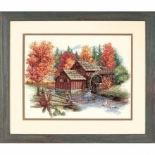 D35199 - Dimensions Counted X Stitch - Glory of Autumn