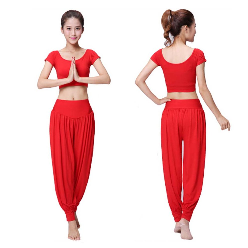 549a356bae82 ... Best Yoga Apparel Sexy Yoga Red Pant Gym Clothes Dance Outfit Fitness  Suit - 1. >