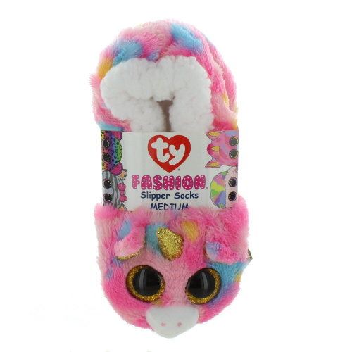TY Beanie Boo Slippers - Fantasia The Unicorn - Size Large (3-5) on OnBuy 02c5468d39b7