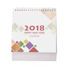 2017-2018 Creative Small Fresh Mini Cute Plan Book Notebook Calendar-C