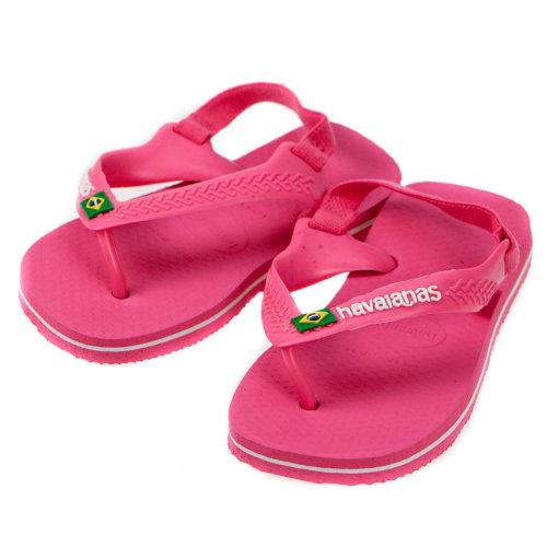 Havaianas Baby Brazil Flip Flops Pink