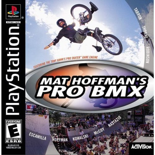 Sony Playstation - Matt Hoffman's Pro BMX
