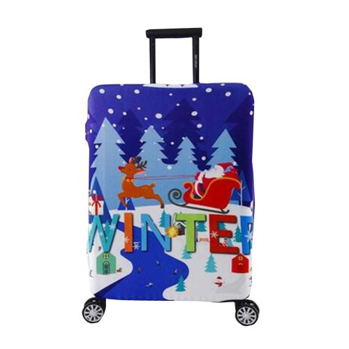 [Christmas] Luggage Suitcase Elastic Protector Cover Prevent Scratches Cover