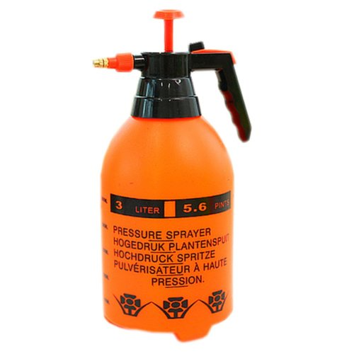 [Sun] Air Pressure Watering Can Garden Tool Cleaning Supply, 2L, 5.1x5.1x11.8""
