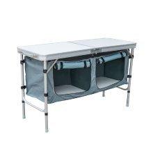 Homcom Table Folding Portable Outdoor Boxes