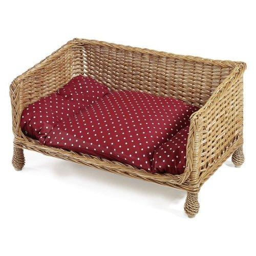 Wicker Dog & Cat Sofa Bed