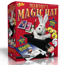 Marvin's Amazing Magic Rabbit and Top Hat - Includes Pop Up Hat and Magic Rabbit