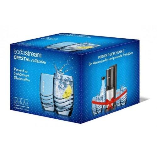4 Sodastream  Drinking Glasses