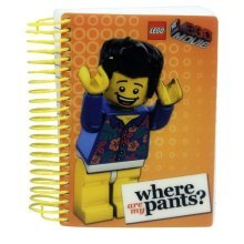 Lego Movie Pocket Notebook Pants -