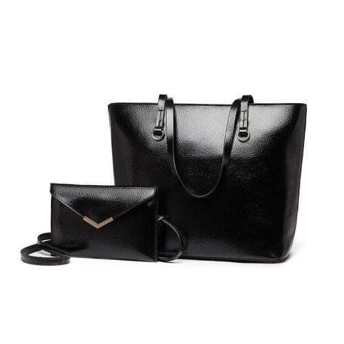 db1c649c12760 Miss Lulu Women Handbag Shoulder Bag Tote Purse Set 2 Pieces on OnBuy