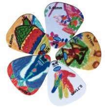 5 PCS Fingers Music Play Guitar Picks Acoustic Guitar Thickness 0.46/0.71 MM, A1