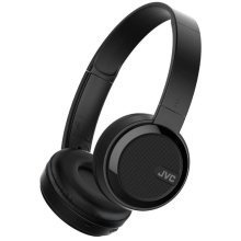 JVC Foldable Bluetooth On Ear Headphones - Black (Model No. HAS40BTBE)