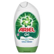 Ariel Regular Bio Actilift Concentrated Washing Detergent Excel Gel - 24 Washes