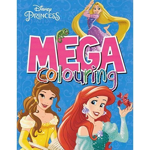 Disney Princess Mega Colouring