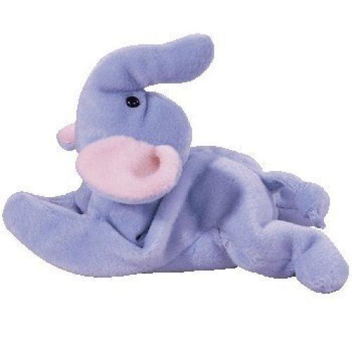d578d8860bd Peanut the Elephant - TY Beanie Baby - Light Blue on OnBuy