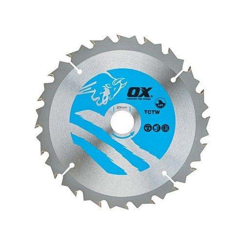 OX TCTW-NG-2503060 Wood Cutting Negative Rake Circular Saw Blade 250 x 30mm 60 Teeth