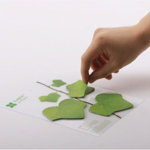 Leaves Shape Post it Notes Sticky Notes