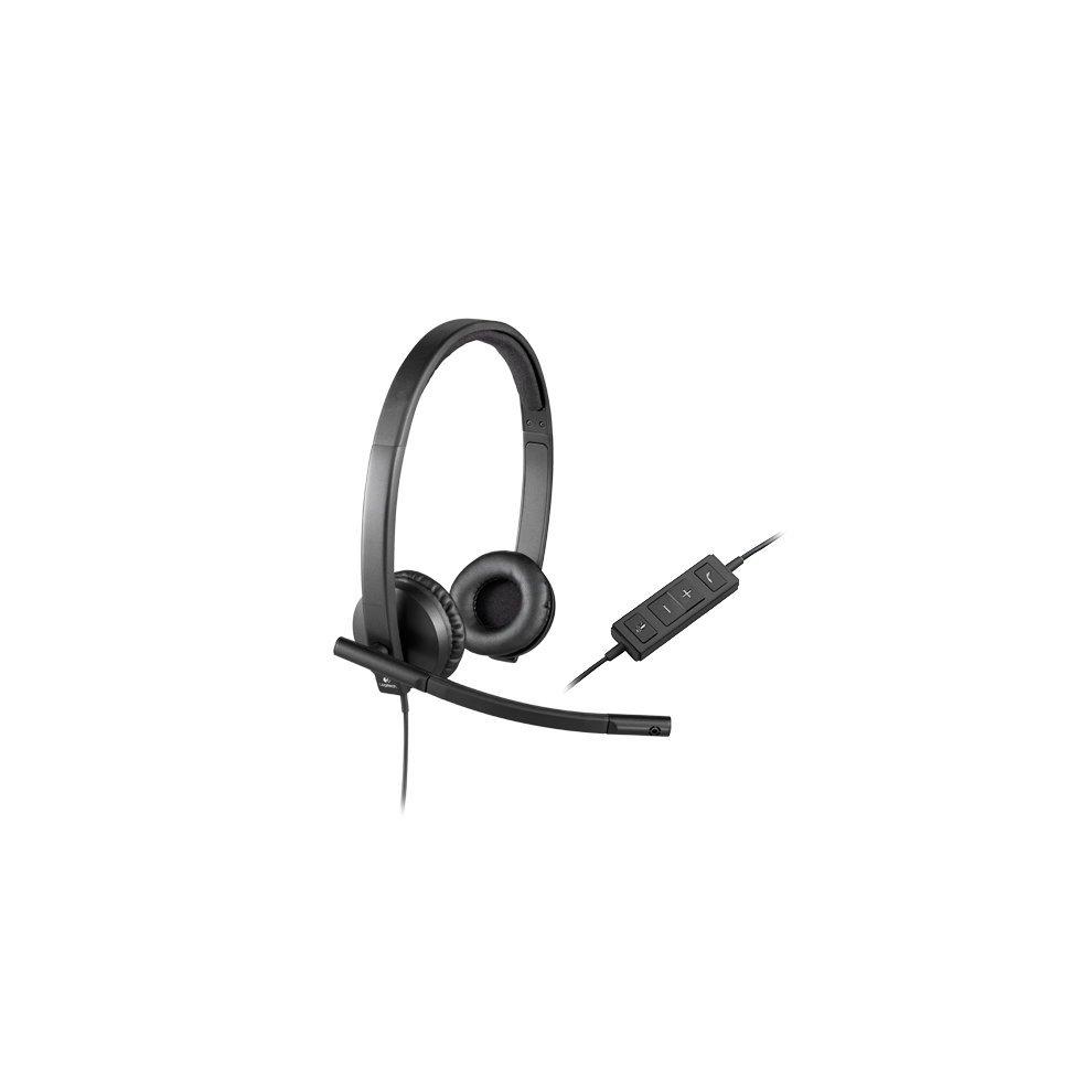 c8fc7c16f76 Logitech H570e Binaural Head-band Black headset on OnBuy