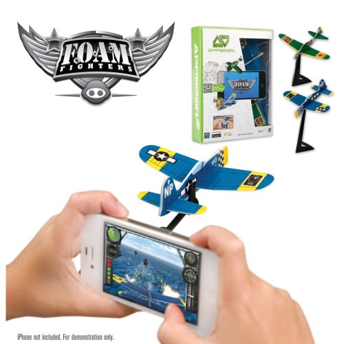 App Gear Foam Fighters (styles May Vary) - Game App Iphone Plane Android New -  foam fighters game appgear iphone plane android new reality FOAM