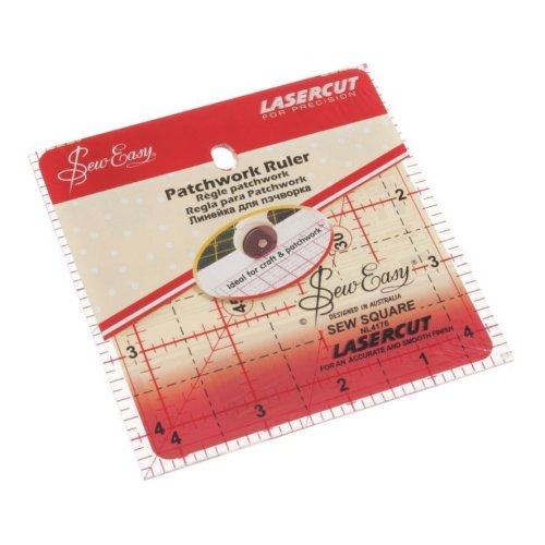 Sew Easy Patchwork Quilting Square 4.5 x 4.5in Template