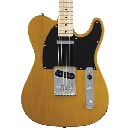 Fender Squier Affinity Telecaster Electric Guitar, Butterscotch Blonde