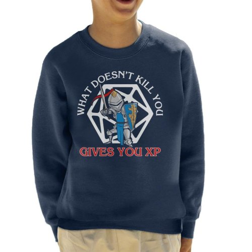 What Doesnt Kill You Gives You XP Kid's Sweatshirt